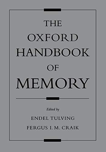 9780195182002: The Oxford Handbook of Memory (Oxford Handbook Series)