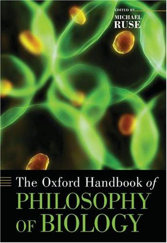 9780195182057: The Oxford Handbook of Philosophy of Biology (Oxford Handbooks)
