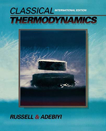 9780195182156: Classical Thermodynamics: International Edition