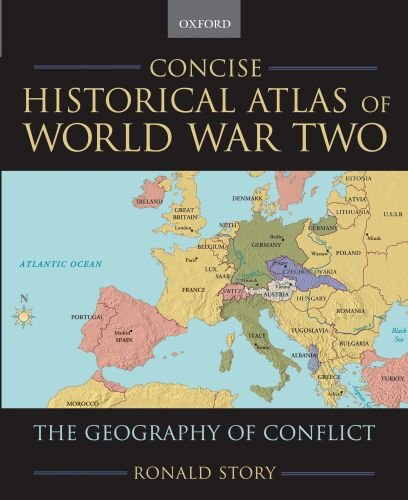 9780195182194: Concise Historical Atlas of World War Two: The Geography of Conflict