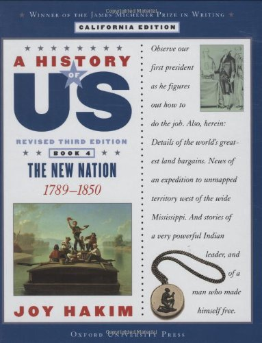 9780195182330: A History of US: Book Four: The New Nation