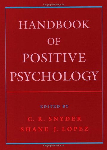 9780195182798: Handbook of Positive Psychology
