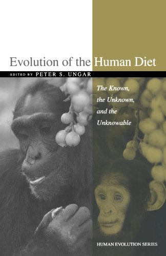 9780195183474: Evolution of the Human Diet: The Known, the Unknown, and the Unknowable