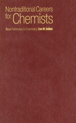 9780195183665: Nontraditional Careers for Chemists: New Formulas in Chemistry