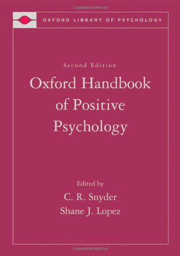 9780195187243: The Oxford Handbook of Positive Psychology (Oxford Library of Psychology)