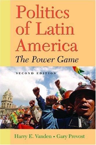 9780195188080: Politics of Latin America: The Power Game