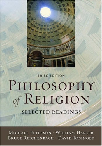 9780195188295: Philosophy of Religion: Selected Readings