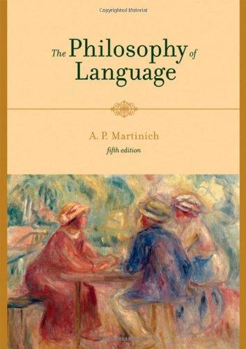 9780195188301: The Philosophy of Language