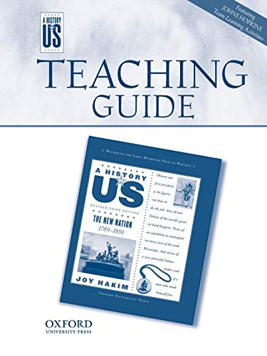 Teaching Guide to New Nation Grade 5 REV 3e Hofus: Joy Hakim