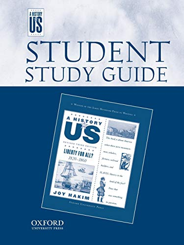 9780195188844: A History of US: Student's Guide, Liberty for All? (A History of Us)