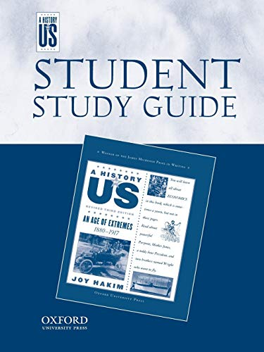 9780195188875: An Age of Extremes: Middle/HighSchool Student Study Guide, A History of US: Student Study Guide pairs with A History of US: Book Eight