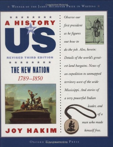 9780195188974: A History of US: The New Nation: 1789-1850 A History of US Book Four