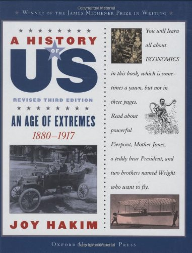 9780195189018: An Age of Extremes: 1880-1917 (A History of Us)