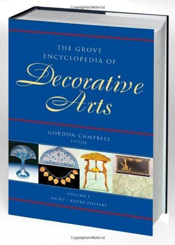 9780195189483: The Grove Encyclopedia of Decorative Arts: Two-volume Set