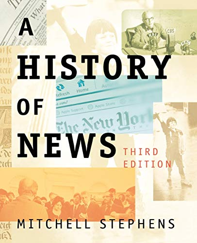 9780195189919: A History of News