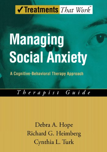 9780195189933: Managing Social Anxiety: Therapist Guide: A Cognitive-Behavioral Therapy Approach (Treatments That Work)