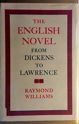 9780195190786: The English Novel: From Dickens to Lawrence