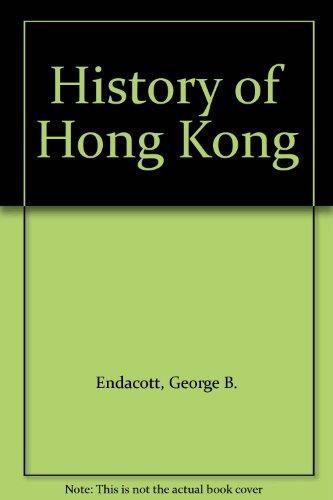 9780195197761: History of Hong Kong