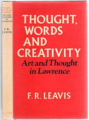 9780195198843: Thought Words and Creativity: Art and Thought in Lawrence