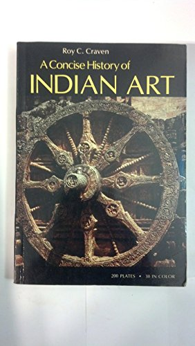 9780195199444: A Concise History of Indian Art