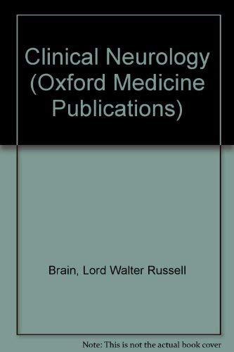 9780195199574: Clinical Neurology (Oxford Medicine Publications)