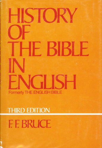 9780195200874: Title: History of the Bible in English From the Earliest