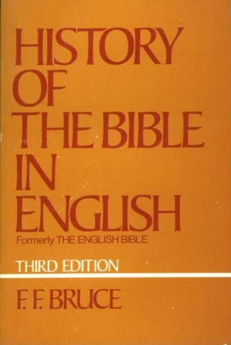9780195200881: The History of the Bible in English: From the Earliest Versions to Today