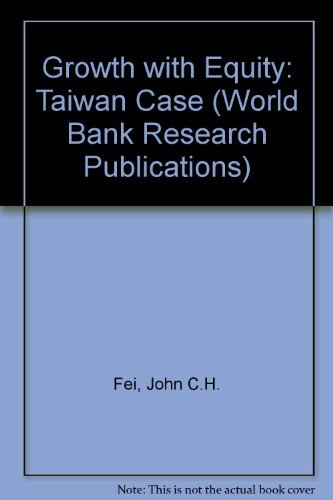 9780195201161: Growth With Equity: The Taiwan Case (A World Bank Research Publication)