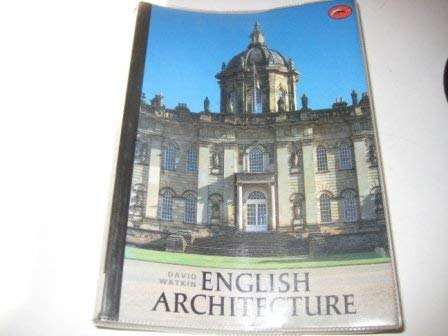 9780195201482: English Architecture: A Concise History