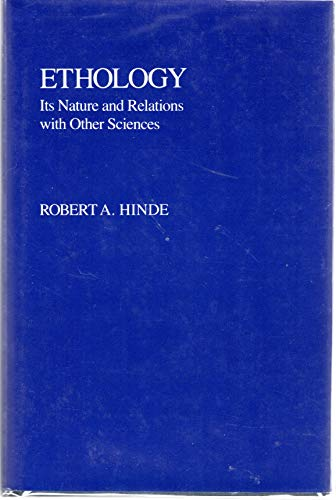 9780195203707: Ethology: Its Nature and Relations with Other Sciences (Masterguides)