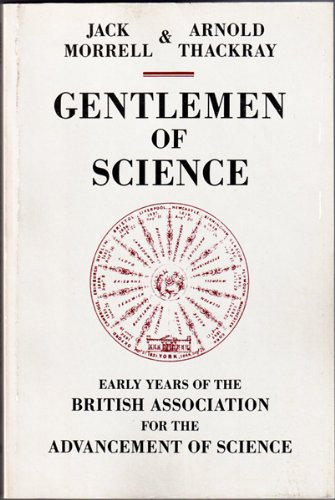 9780195203967: Gentlemen of Science: Early Years of the British Association for the Advancement of Science