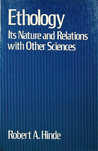9780195204308: Ethology: Its Nature and Relations With Other Sciences