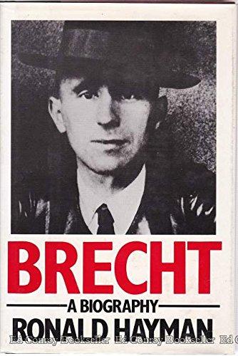 9780195204346: Brecht: A Biography