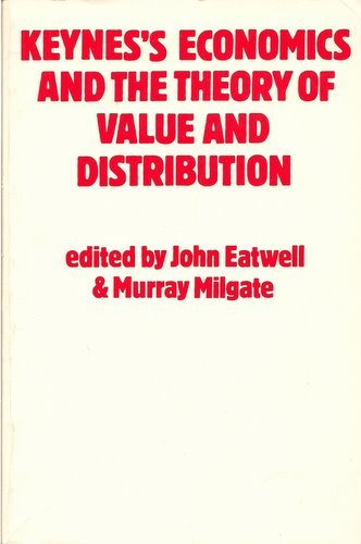9780195204421: Keynes's Economics and the Theory of Value and Distribution