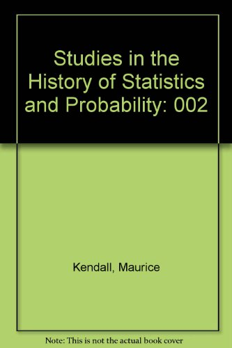 9780195205763: Studies in the History of Statistics and Probability: Volume II