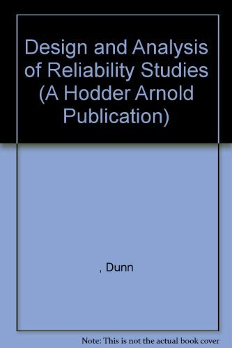9780195207040: Design and Analysis of Reliability Studies: The Statistical Evaluation of Measurement Errors