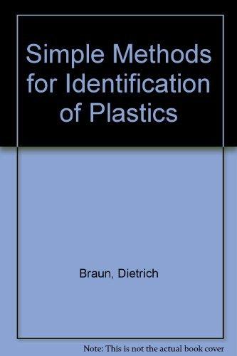 9780195207255: Simple Methods for Identification of Plastics