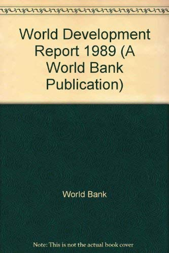 World Development Report 1989: World Bank