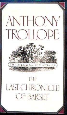 9780195208092: Last Chronicle of Barset