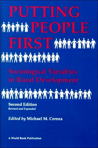 9780195208276: Putting People First: Sociological Variables in Rural Development