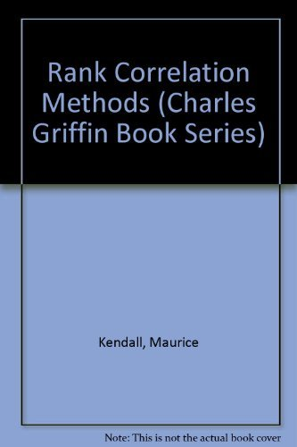 9780195208375: Rank Correlation Methods (Charles Griffin Book Series)
