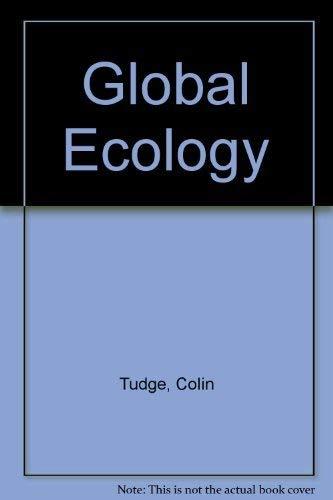 9780195209044: Global Ecology