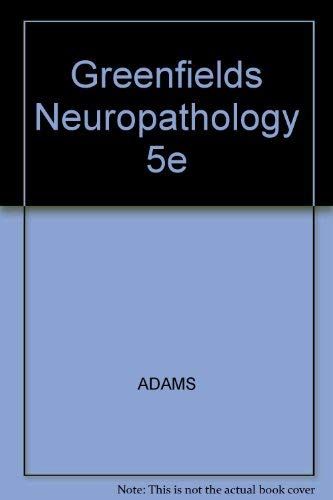 9780195209488: Greenfield's Neuropathology