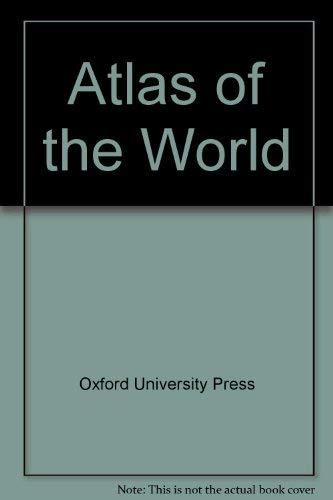 9780195209556: Atlas of the World