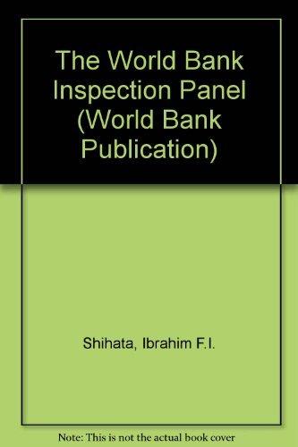 9780195209990: The World Bank Inspection Panel (World Bank Publication)