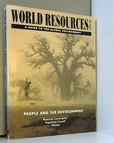 9780195210453: World Resources 1994-1995