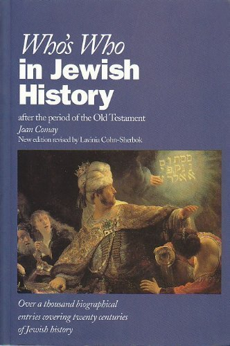 9780195210798: Who's Who in Jewish History: After the Period of the Old Testament (Who's Who Series)