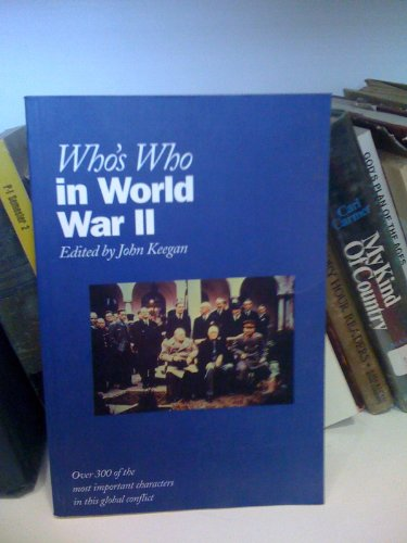 9780195210804: Who's Who in World War II (Who's Who Series)