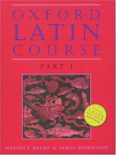 9780195212037: Oxford Latin Course, Part I