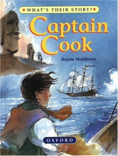 9780195214338: Captain Cook: The Great Ocean Explorer (What's Their Story?)